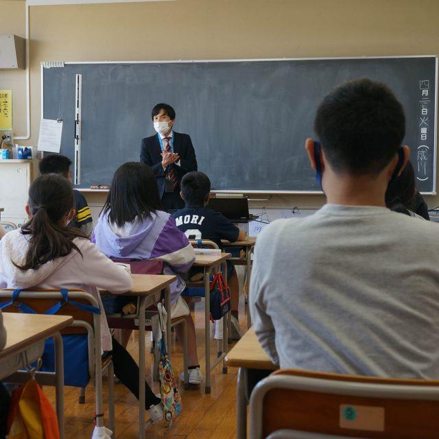 ノーベル賞の梶田先生の母校で租税教室を開催しました