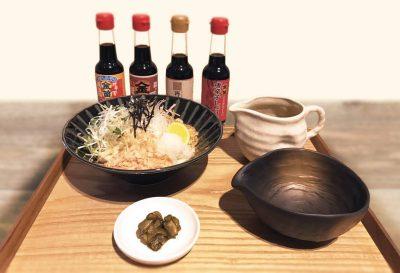 蔵出し醤油の食べ比べうどん(レストラン)
